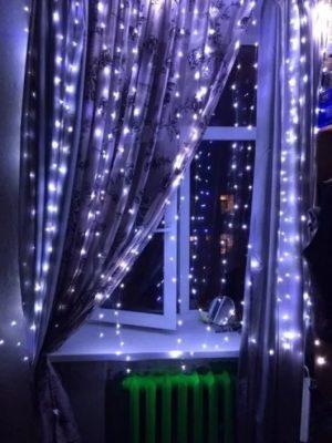 Светодиодный дождь 1,5*1,5 м серия Home