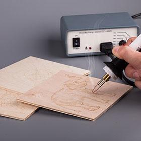 Доски с рисунком для выжигания